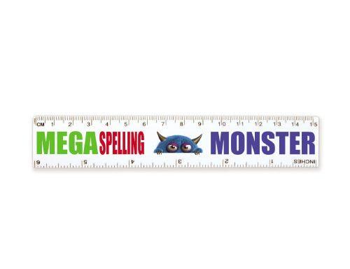 15cm White Ruler LL14