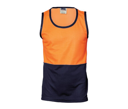 DNC Cotton Back Singlet 3841