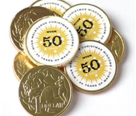 Chocolate Coins CC011A