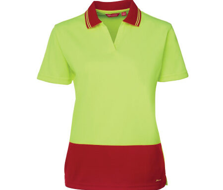 JB's Ladies' Non-Button Hi Vis Polo 6HNB1