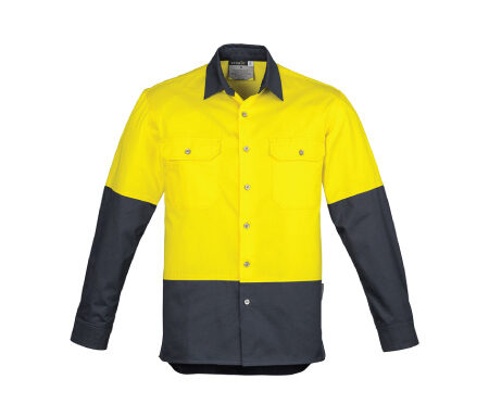 Syzmik Hi Vis Spliced Industrial Shirt – ZW122