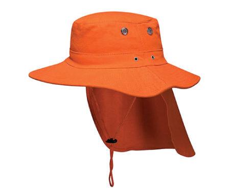Wide Brim Hat with Flap MC601
