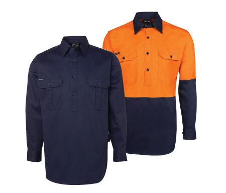 JB's 190g Close Front Work Shirt 6WSCF