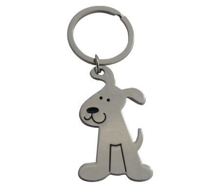 Dog Shape Keyring JK046