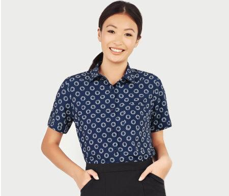 Daisy Print Shirt CS948LS