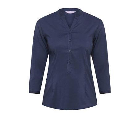Van Heusen 3/4 Sleeve Relaxed Fit Jersey Top VHKS401