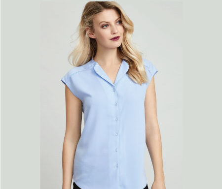 Lily Ladies' Sleeveless Blouse S013LS