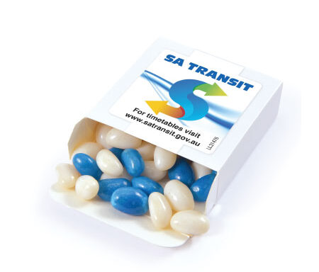 Corporate Colour Jelly Beans in Box LL31476