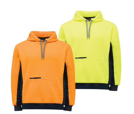 King Gee Hi Vis Pullover Jersey Fleece K55033