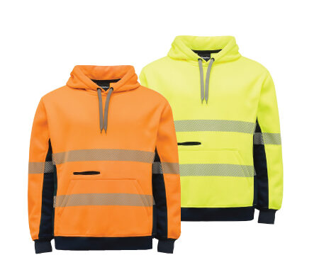 King Gee Hi Vis Taped Pullover Jersey Fleece K55054