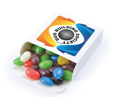 Assorted Colour Jelly Beans in Box LL31474