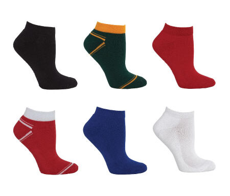 JB's Sport Ankle Socks (5 Pack) 7PSS1
