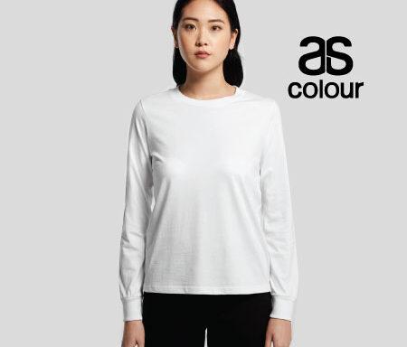 AS Colour Dice Long Sleeve Tee 4056