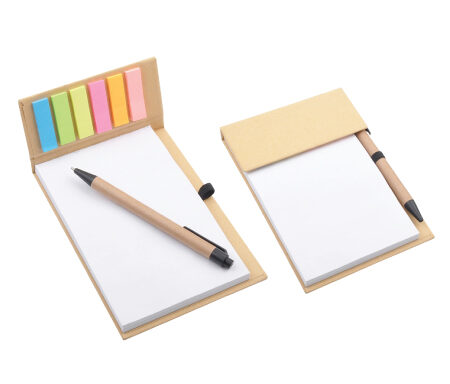 Desk Memo Pad with Pen PXS1239