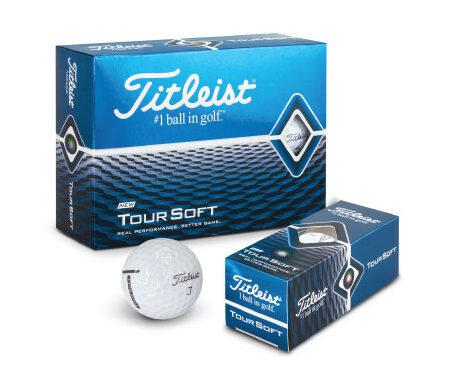 Golf Balls – Titleist Tour Soft 118395
