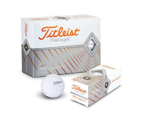 Golf Balls – Titleist Velocity 118396