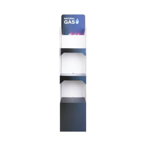 3-Tier Cardboard Floor Display POS56