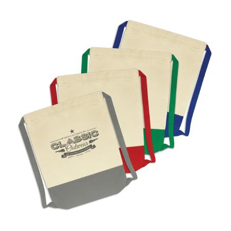 Reno Cotton Drawstring Backpack (0.7L) 114422
