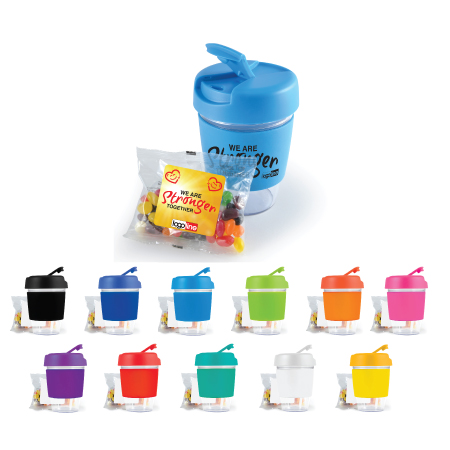Kick Coffee Cup with Jelly Beans LL0444