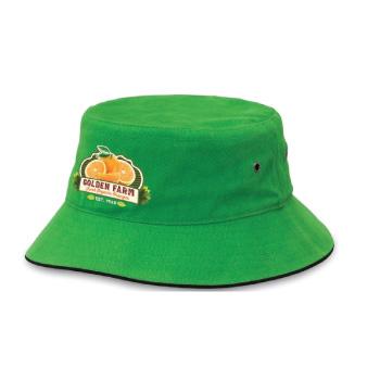 Sandwich Brim Bucket Hat 4007