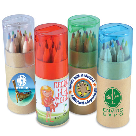 Coloured Pencils LL193