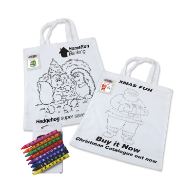 Colouring-In Tote LL5520