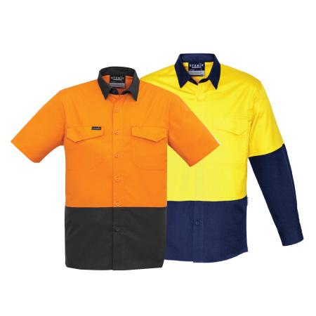 Syzmik Rugged Hi Vis Drill Shirt ZW815