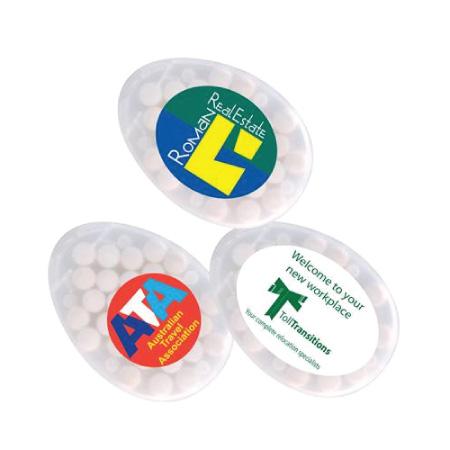 Egg Shape Mint Cards LL062