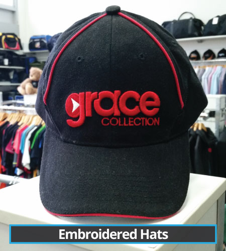 Embroidered Hats