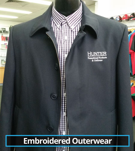 Embroidered Outerwear