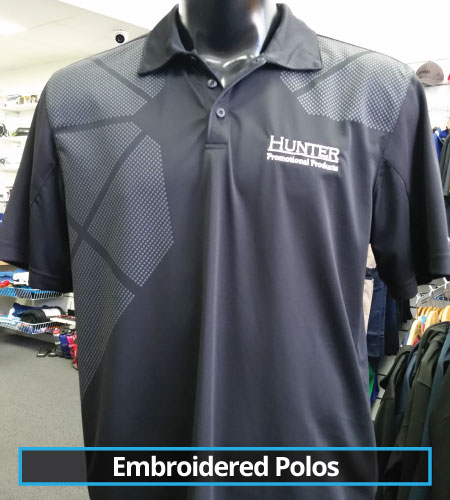 Embroidered Polos