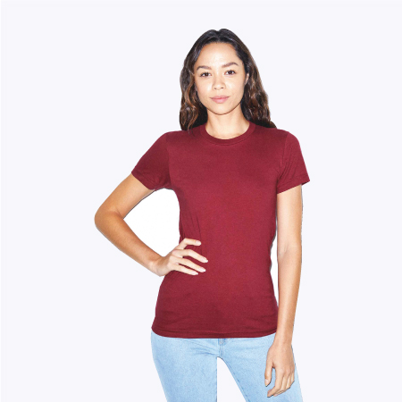 American Apparel Ladies' Fine Jersey Fitted T-Shirt
