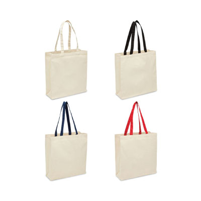 Heavy Duty Canvas Tote with Gusset 2002