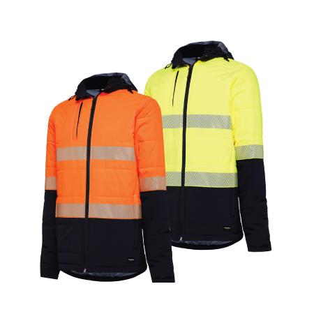 King Gee Hi Vis Puffer Jacket K55015