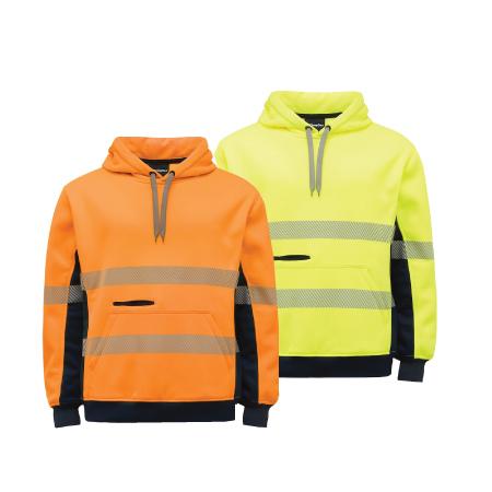 King Gee Hi Vis Taped Pullover Jersey Fleece K55054