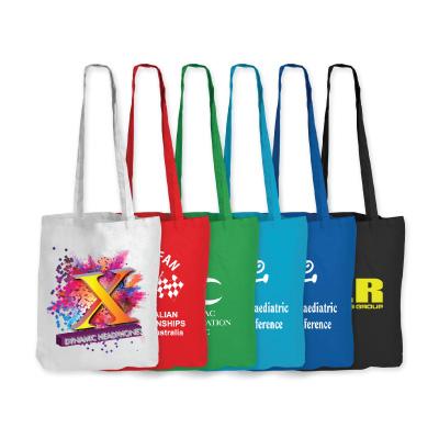 Coloured Cotton Bags – Long Handle LL510