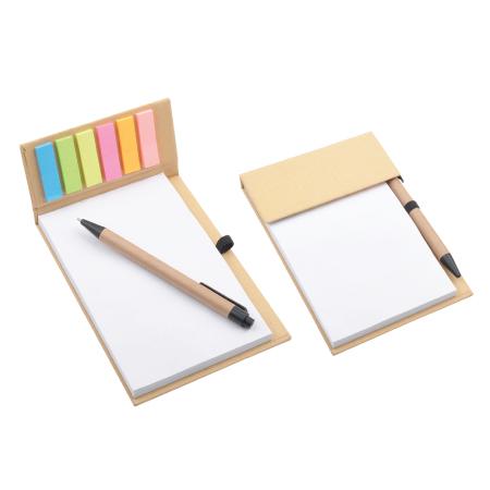 Desk Memo Pad with Pen PXS1239