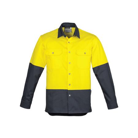 Syzmik Hi Vis Spliced Industrial Shirt ZW122