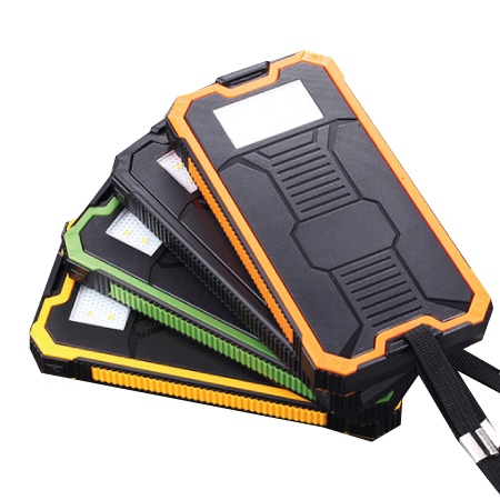 Solar Power Bank with LED Light PCB161