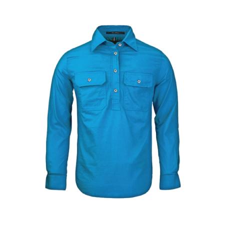 Ritemate Pilbara Closed Front L/S Shirt RM200CF