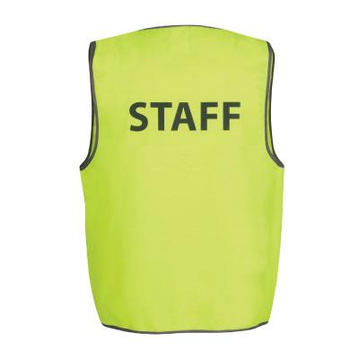 Pre-Printed Safety Vest 6HVS