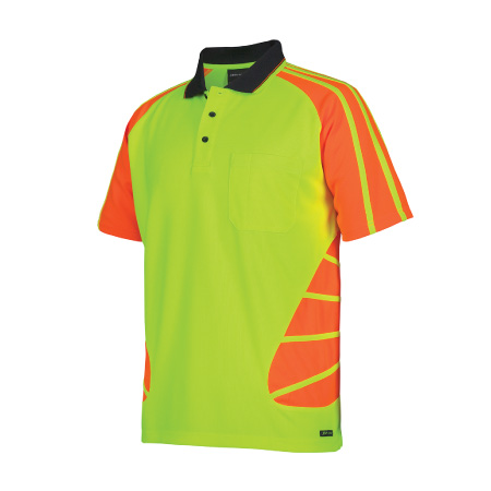 JB's Hi Vis Spider Polo 6HSP