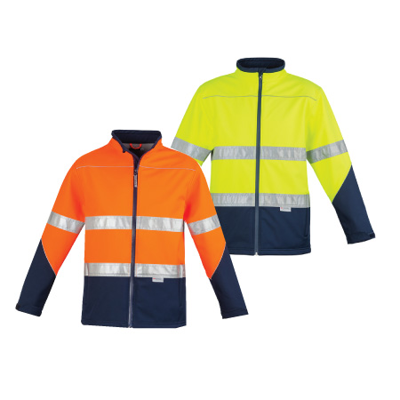 Syzmik Unisex Hi Vis Soft Shell Jacket ZJ353