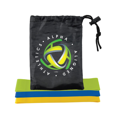 Stamina Resistance Bands in Pouch LL8842