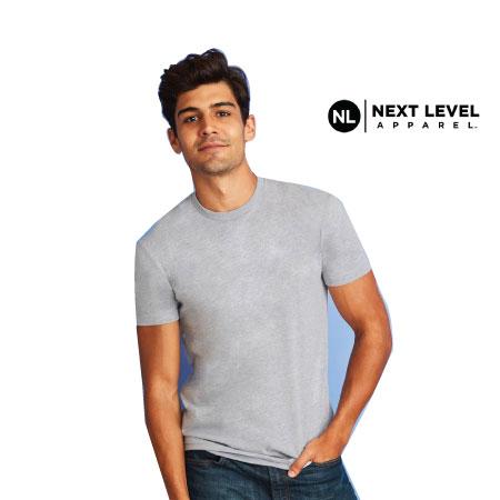 Men's Cotton Crew T-Shirt NL3600