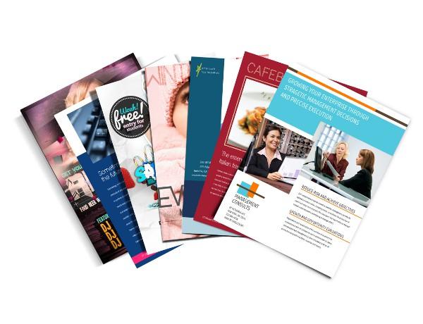 Folders, Brochures & Flyers
