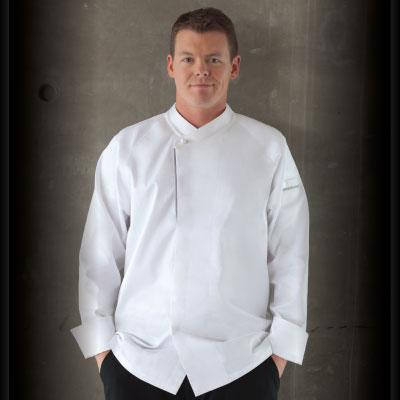 Trieste Cotton Chef Jacket ECRO