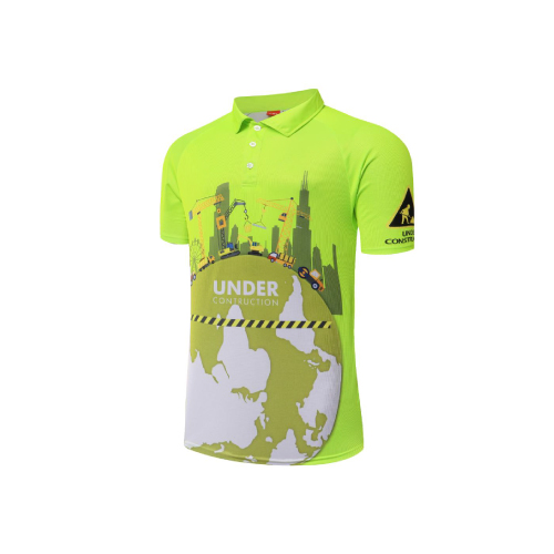 Hi Vis Dye Sublimated Polo