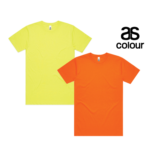 AS Colour Block Tee (Safety Colours) 5050F