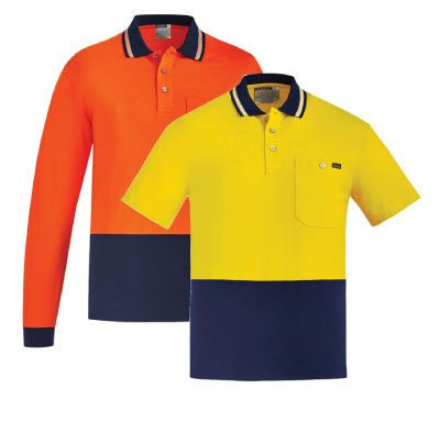 Syzmik Cotton Hi Vis Polo ZH435